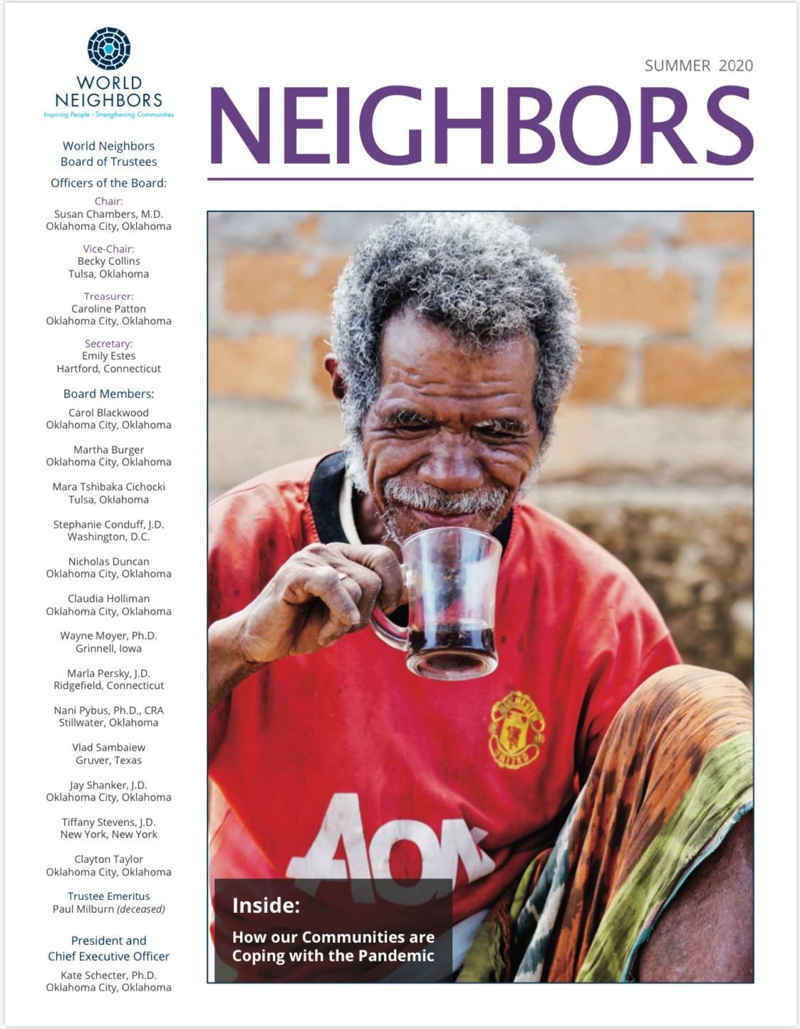 Cover of Summer Neighbors 2020